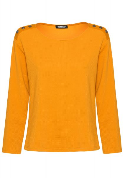 Pullover HONEY FLAVOR mit dekorativen Druckknöpfen