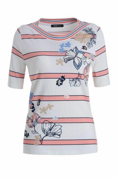 Shirt Mykonos in dezentem Blütendessin