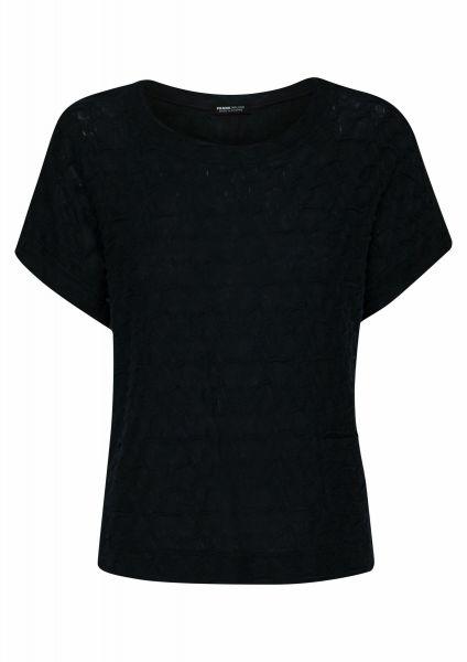 Shirt Navy meets Pistachio mit aufgesetzter Tasche