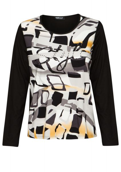 Shirt HONEY FLAVOR mit Metallplättchen-Deko