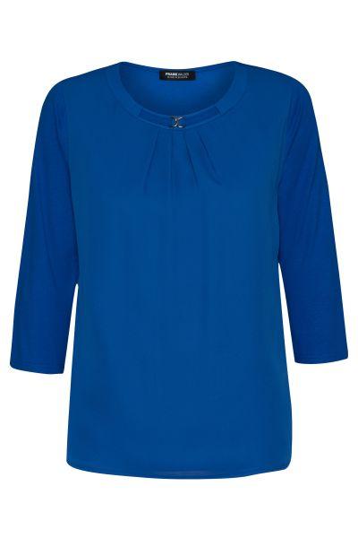 Shirt 3/4 Ärmel Nizza mit dekorativem Zierteil