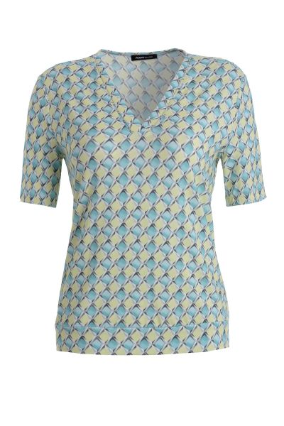 Shirt Capri mit graphischem Print
