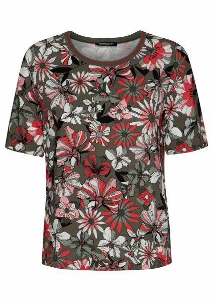 Shirt Secret garden mit farbstarkem Blüten-Dessin