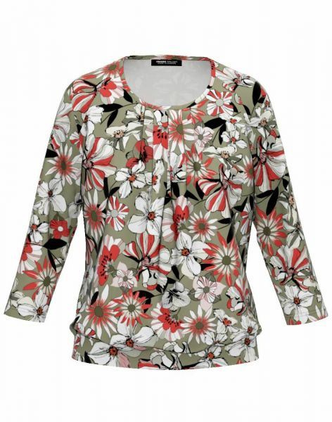 Shirt Elba mit unterlegtem Vorderteil