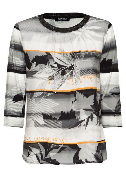 Shirt HONEY FLAVOR mit angepasstem Strickbündchen