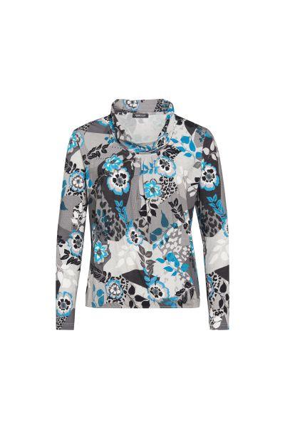 Shirt Elba mit modernem Blüten-Print