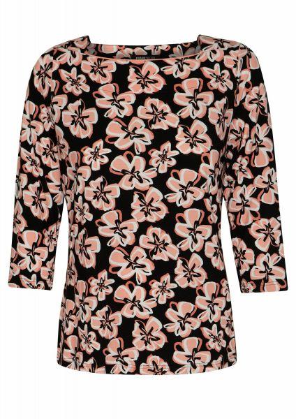 Shirt Pattern Mix im modernen Blüten-Dessin