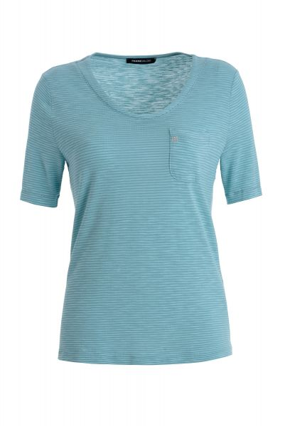 Shirt Capri mit Strass-Emblem