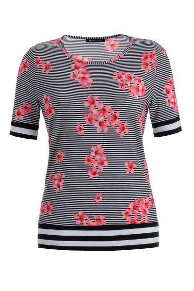 Blusenshirt Valencia im zarten Blütenprint