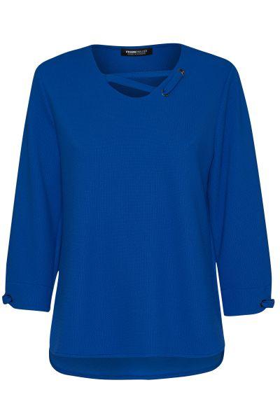 Pullover Nizza mit raffinierter Ausschnittlösung