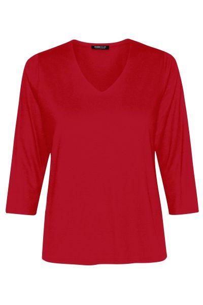 Shirt 3/4 Ärmel Nizza mit gedoppeltem Vorderteil