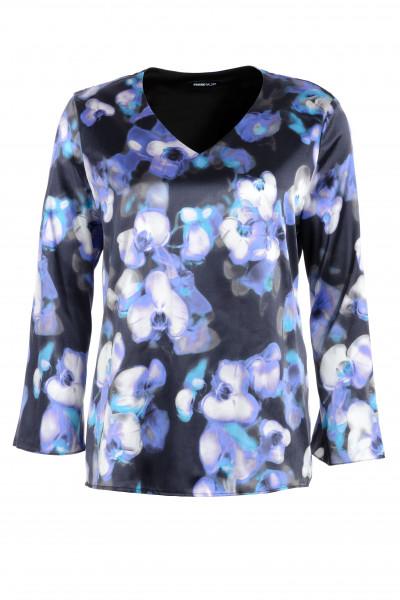 Feminine Bluse mit Blütendruck