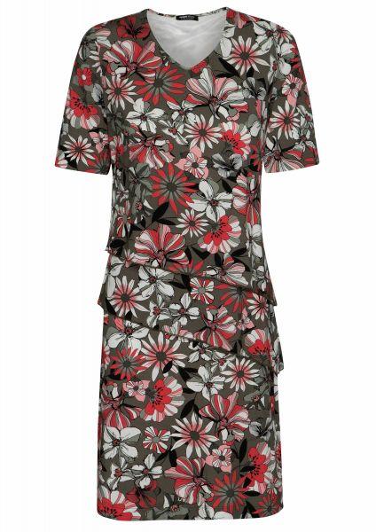 jurk Secret garden gemaakt van gemakkelijk te onderhouden viscose jersey