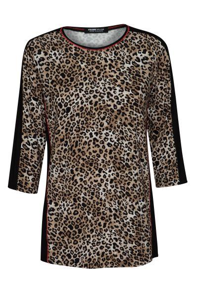 shirt NATURAL TONES im angesagten Animal-Dessin