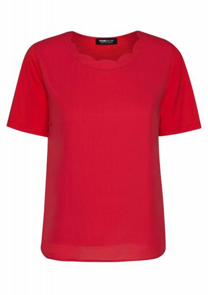 Shirt Elba mit aufwendig verarbeitetem Ausschnitt